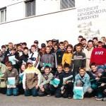 Jugendfischer vom Stadtweier besuchen die Fischzucht Rorschach